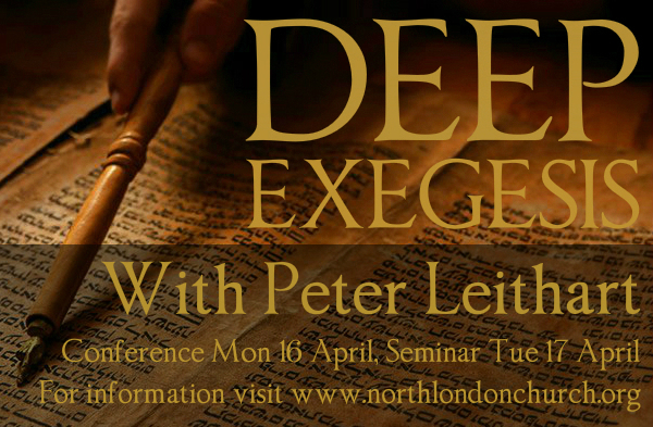 Deep Exegesis Conference