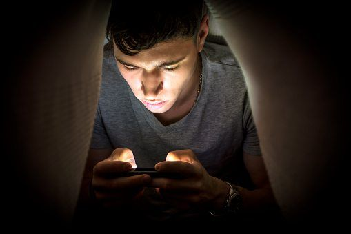 Teenagers and the smartphone beast